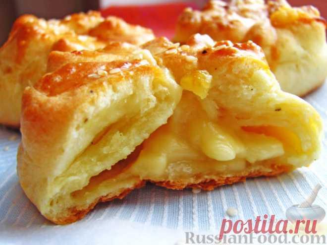Булочки с сыром - 30 лучших рецептов