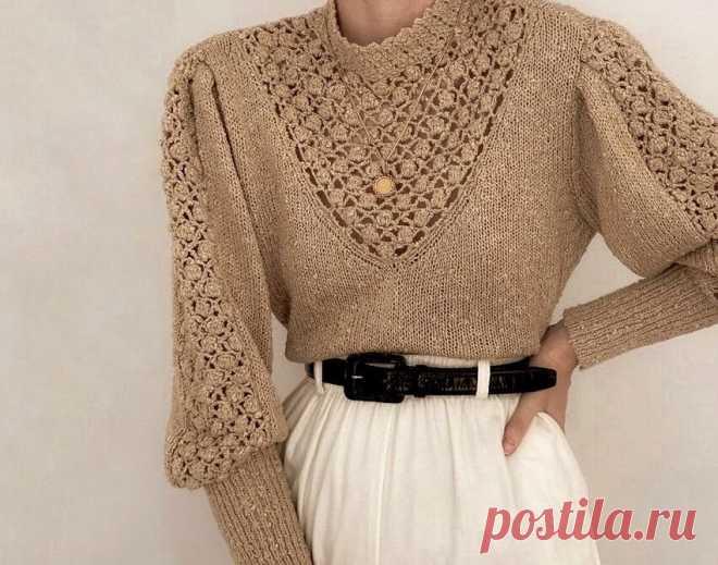 Винтажный стиль в вязании. Пуловеры и кардиганы в стиле прошлого: 6 изделий — 6 схем   Вяжем вместе!   Пульс Mail.ru Винтажные пуловеры и кардиганы можно повторить на спицах самостоятельно. Схемы я уже составила.