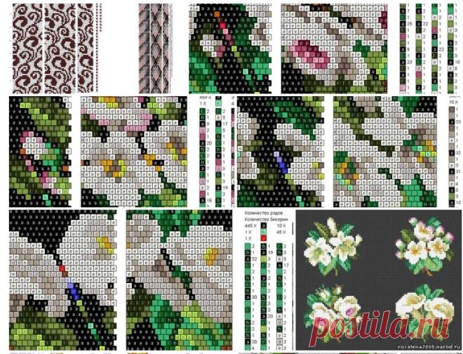 Фотографии Рисуем схемы для жгутов из бисера, вышивки и др. – 31 альбом