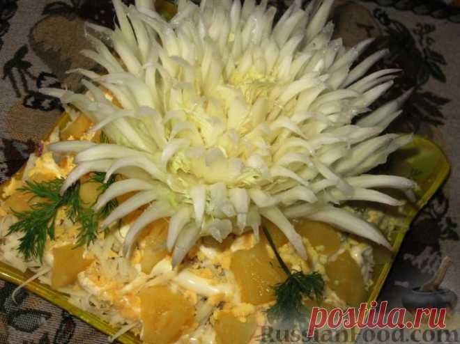 Салат из пекинской капусты - нежный, легкий и вкусный