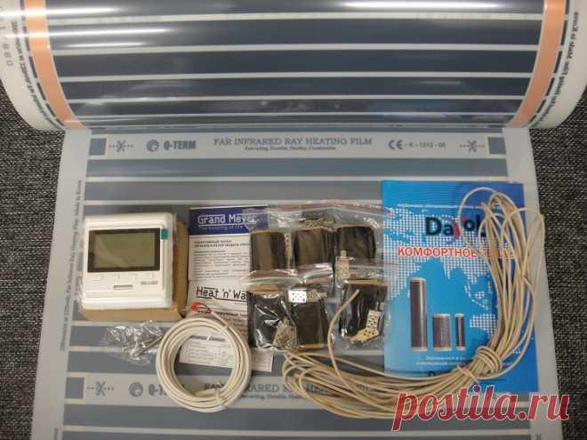 Полный комплект инфракрасного нагревательной пленки для устройства ИК саун, на двухместную кабину - можно недорого купить у нас..