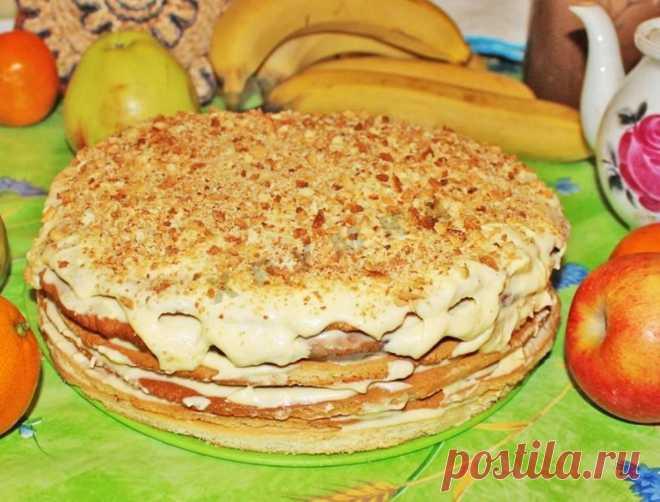 Медовые коржи для торта рецепт с фото пошагово - 1000.menu