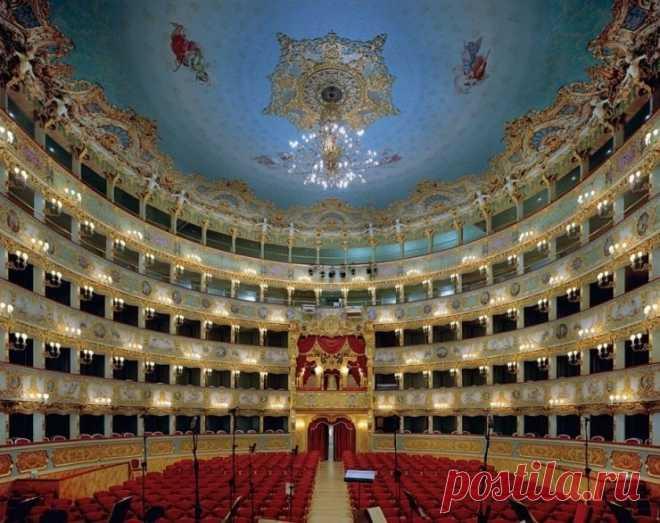 Интерьеры лучших оперных театров мира