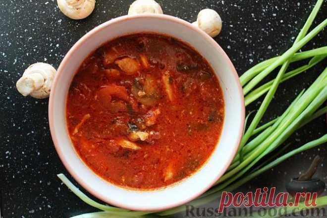 Рецепт: Куриный суп по-азиатски