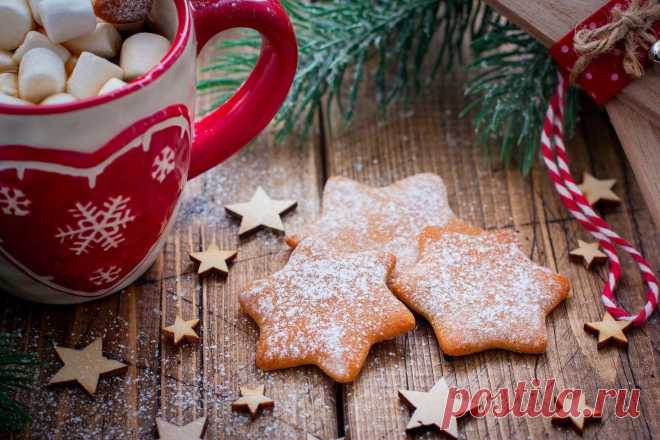 Рождественское имбирное печенье рецепт с фото пошагово и видео - 1000.menu