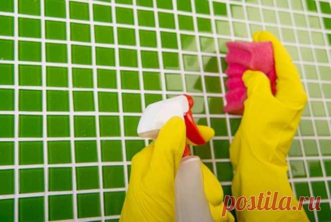 Рецепт универсального очистителя для ванной комнаты