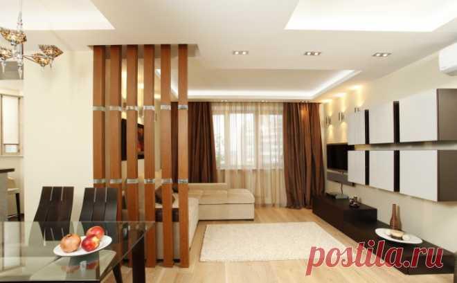 Деревянные перегородки для стильного зонирования интерьера — Pro ремонт