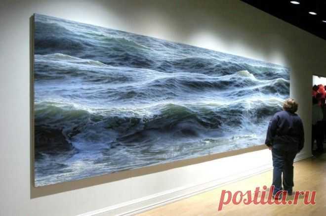 Живое море Рэна Ортнера — Сделай сам, идеи для творчества - DIY Ideas