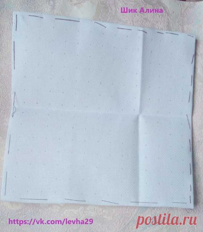 Пасхальная вышивка крестиком ч.2: начало процесса и советы по вышиванию