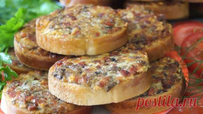Безумно Вкусный перекус за 10 минут - Простые рецепты Овкусе.ру