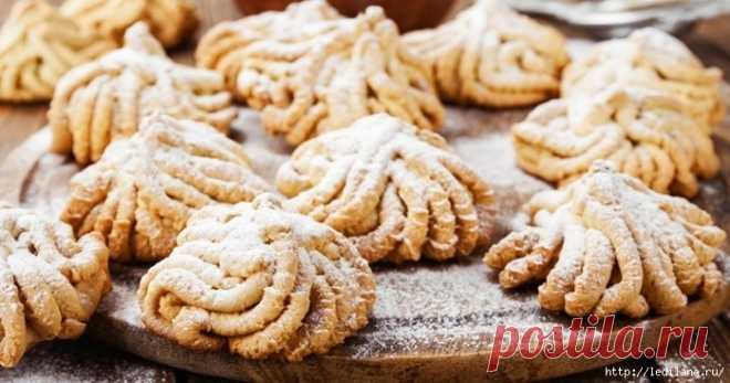 Печенье через мясорубку - вкусное лакомство детства. Много рецептов!