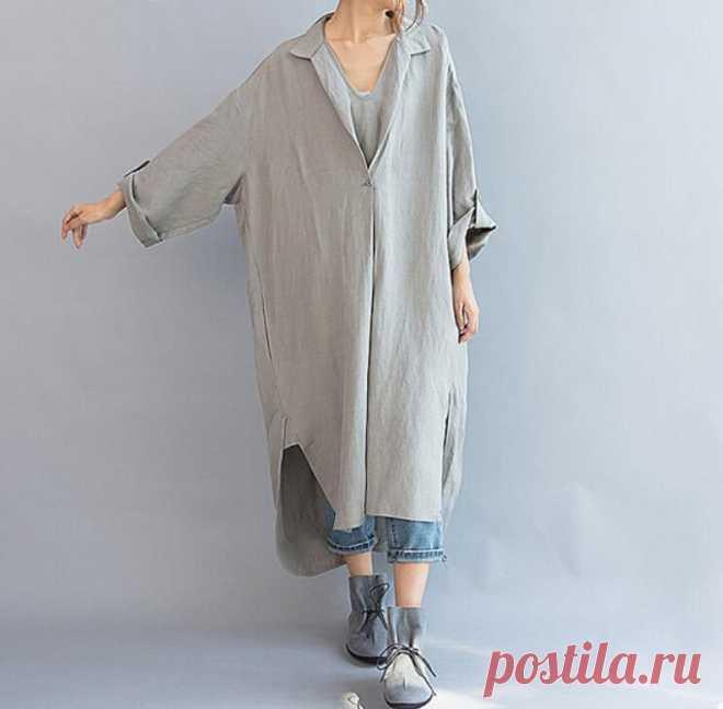 Womens dresses Linen cotton dress Loose Fitting Maxi dress | Etsy