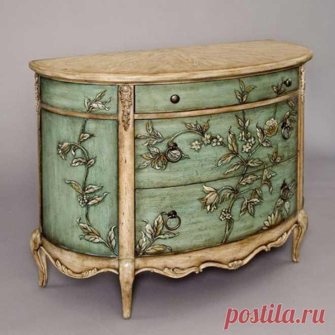 Идеи декора старой мебели своими руками