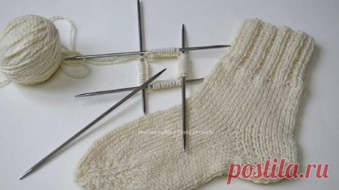 Классические носки спицами | Модное Хобби | Яндекс Дзен