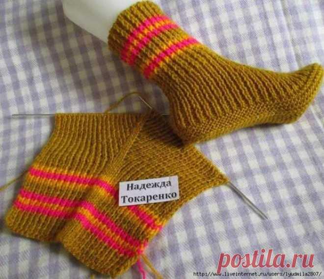 Cool socks on two spokes