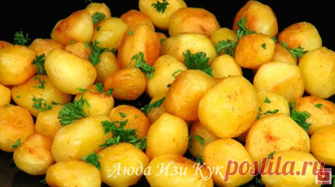 Чесночная картошка по-узбекски - Коллекция замечательных рецептов