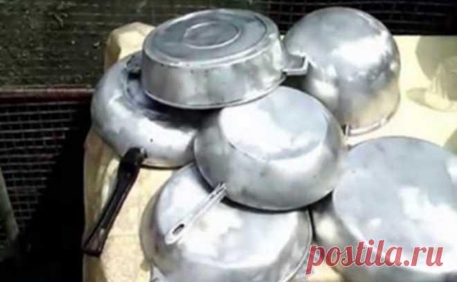 Средство для очистки сковородок.Бабушкины сковородки сверкают чистотой! - СУПЕР ШЕФ