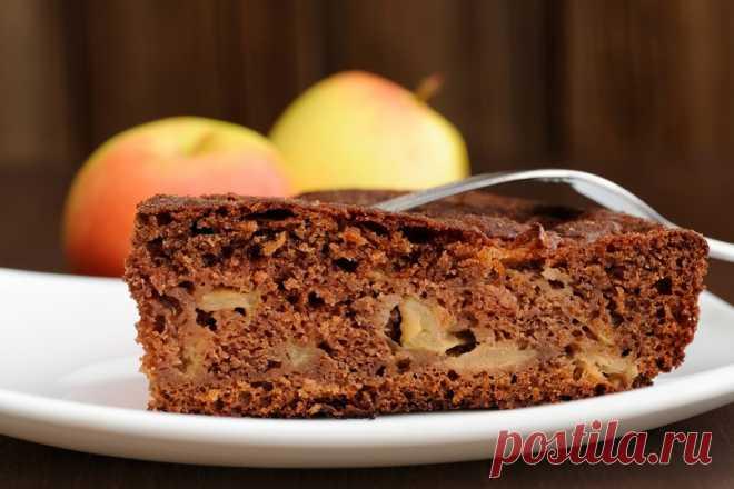 Como así preparo el pastel de manzana sobre el kéfir. Solamente un vaso …