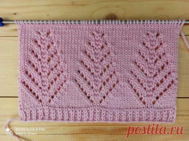 Красивые узоры спицами для свитера и кардиганы