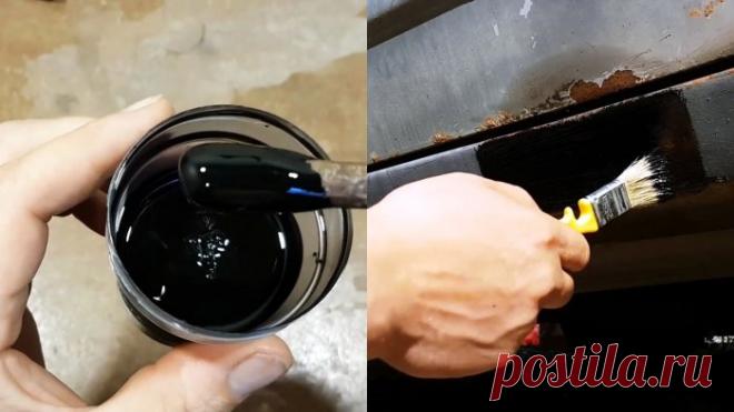 Изготовление жидкого пластика для антикоррозионных покрытий своими руками