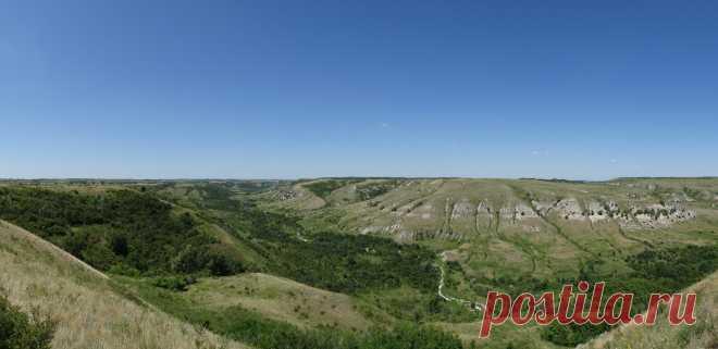 Самый глубокий овраг Волгоградской области. Даниловский каньон | Per aspera ad astra | Яндекс Дзен