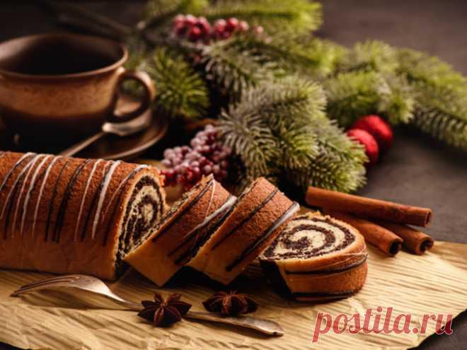 Christmas roll