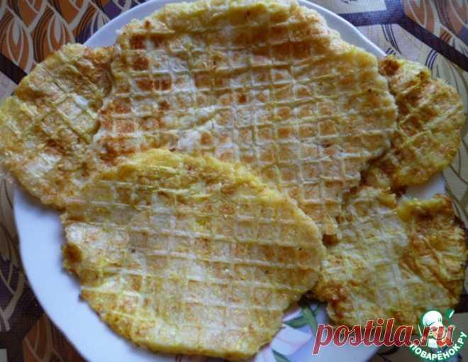 Кабачковые вафли – кулинарный рецепт