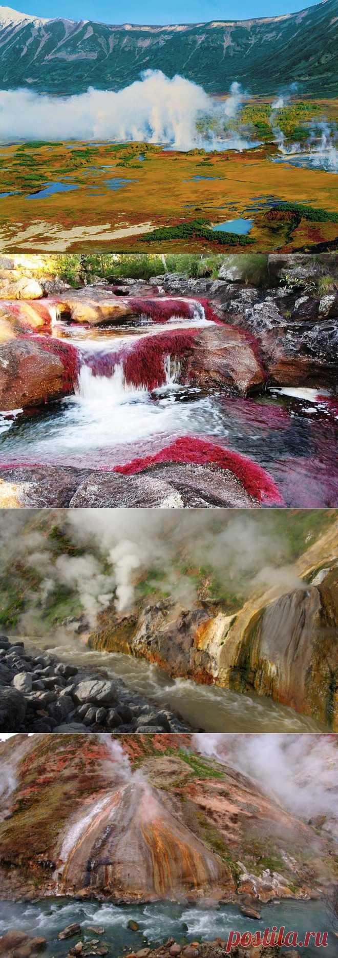 Чудо природы — река Гейзерная : НОВОСТИ В ФОТОГРАФИЯХ