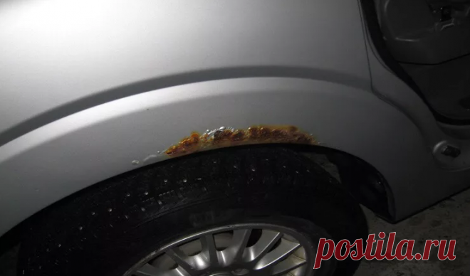 Весной на кузове авто часто появляется ржавчина. Делюсь способом как можно быстро от нее избавиться раз и на всегда   Электроник   Яндекс Дзен