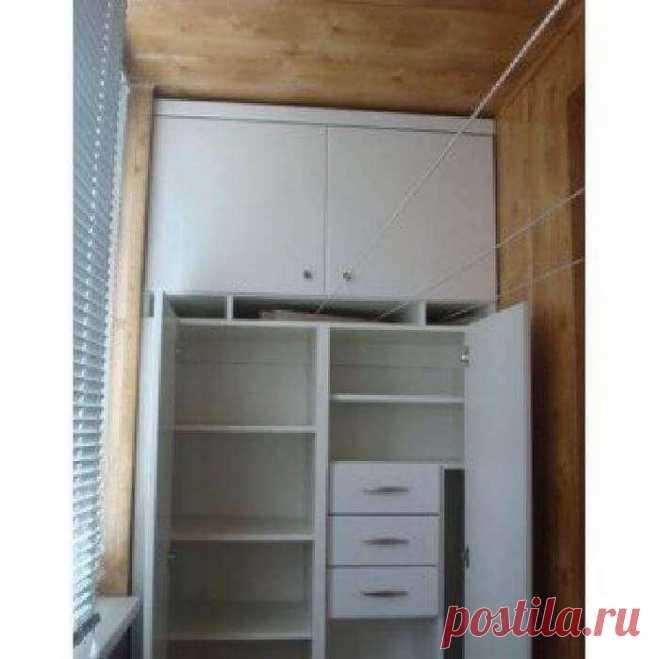 ТОП 27 идей как сделать шкафчики на БАЛКОН. Мастер-Класс