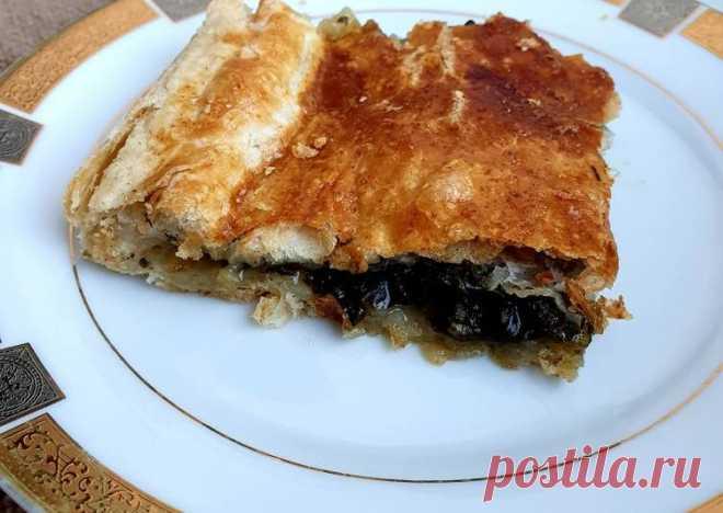 Щавелевый пирог 🥧 - пошаговый рецепт с фото. Автор рецепта Yulia Nikolaeva . - Cookpad