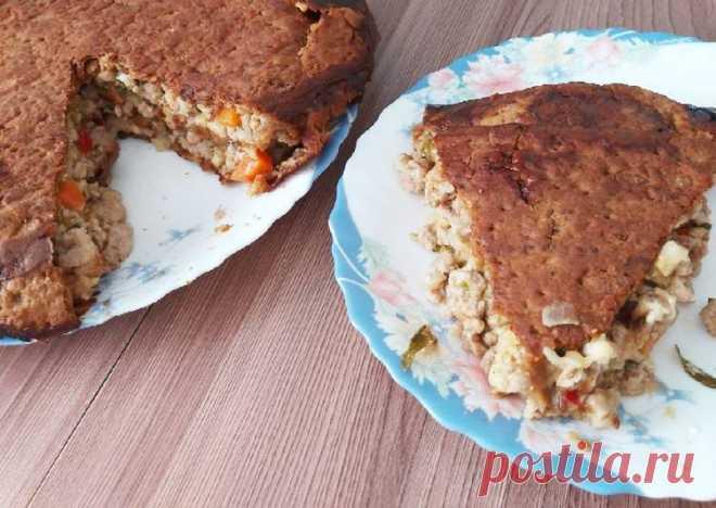 Мясной пирог из лаваша - пошаговый рецепт с фото. Автор рецепта Ирина Яценко . - Cookpad