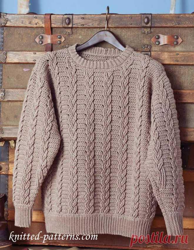 Мужские вязаные свитера