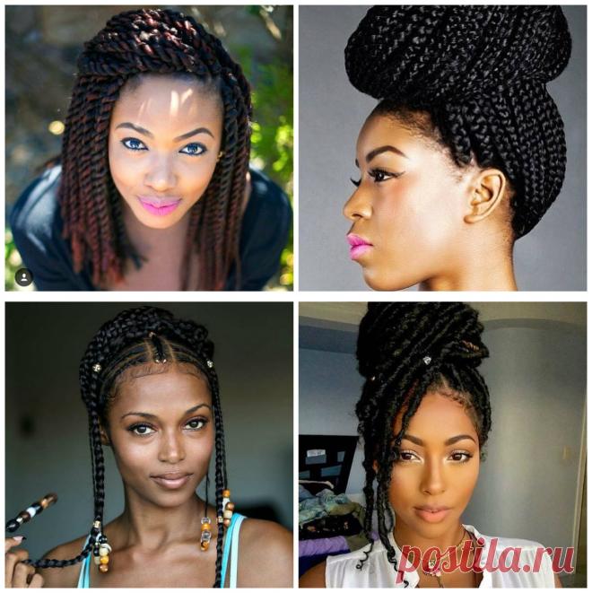 Peinados Con Trenzas Africanas Estilos De Moda Para Mujeres