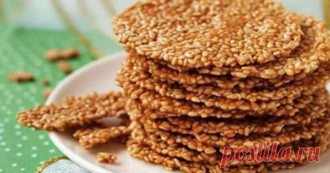 Кунжутное печенье - Со Вкусом