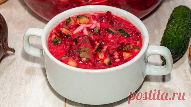 Освежает, стройнит и укрепляет здоровье! Все в восторге от этого витаминного, легкого супа свекольника!   Найди Свой Рецепт   Яндекс Дзен