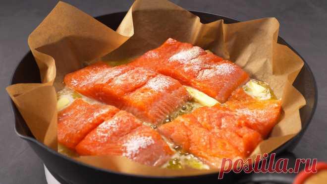 Идеальный способ вкусно приготовить рыбу. Рыба на бумаге! | Всегда Вкусно! Видео рецепты | Яндекс Дзен