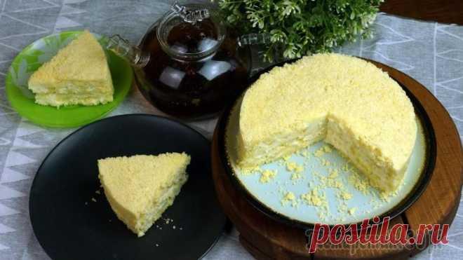 Обалденный торт без выпечки