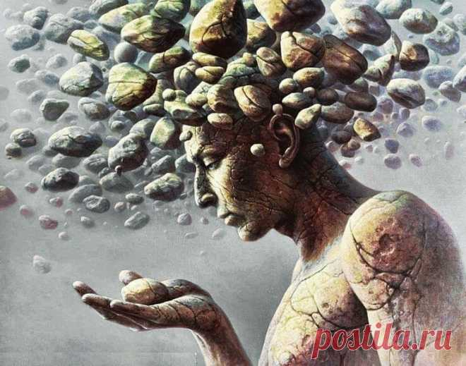 Psychosomatics: tell what hurts you, and I will answer where at you