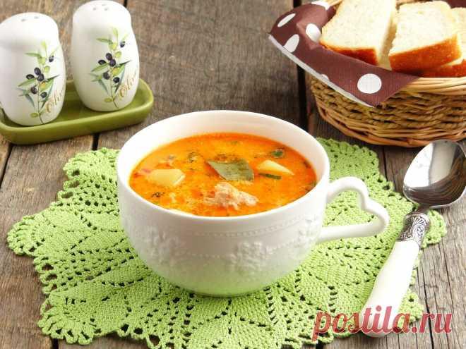 🥘 Рыбный суп из консервированной горбуши с плавленным сырком. 👨🍳 Готовим с любовью! | Аймкук — рецепты с фото | Яндекс Дзен