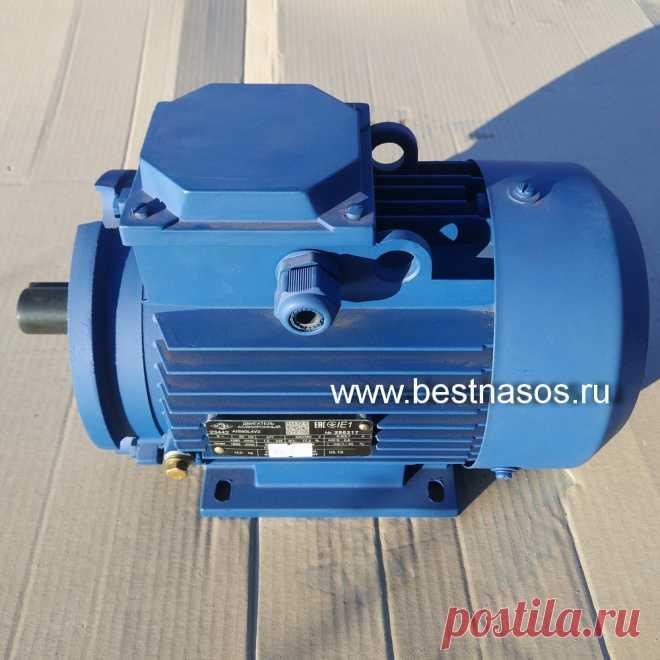 Купите асинхронный электродвигатель на насос Бурун СХ  в ХозОптТорг (Ливны)