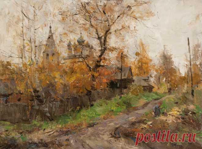 Творчество современного русского художника Александра Косничева