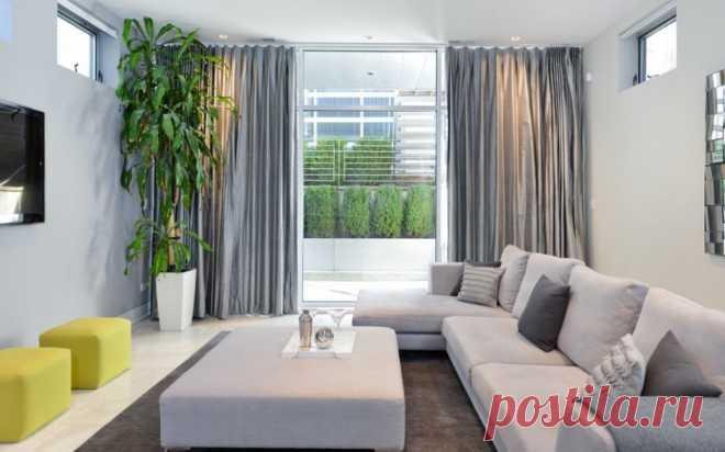 Серый угловой диван как иконический элемент интерьера | Роскошь и уют
