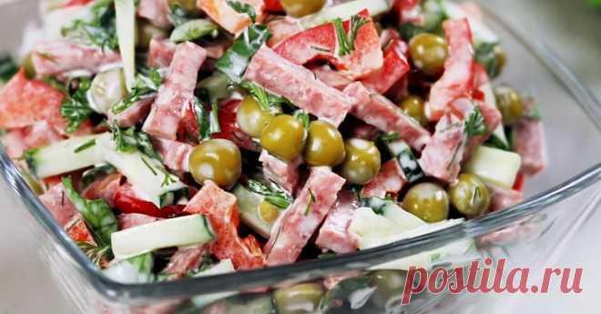 5 прекрасных салатов для праздничного стола Даже сложно выбрать!