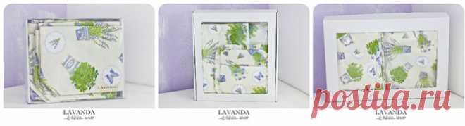 Лавандовый текстиль - текстильные изделия для дома с лавандовым рисунком