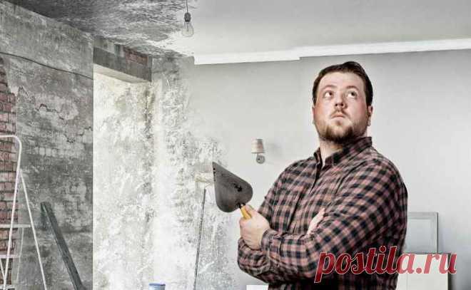 Почему сыпется пыль со стен даже после грунтовки — Строительство и отделка — полезные советы от специалистов