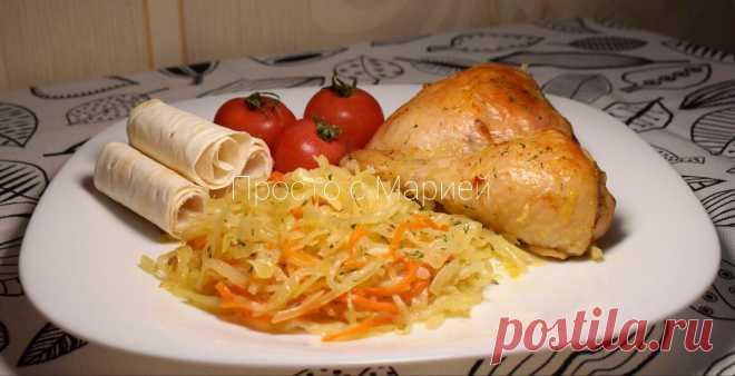 Просто объедение: как я теперь готовлю капусту на обед и ужин (просто и дёшево получается)   Просто с Марией   Яндекс Дзен