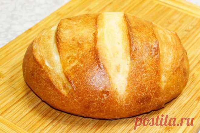 Приготовила хлеб без замеса, жаль, что не готовила так раньше: проще простого и вкус замечательный | Мастерская идей | Яндекс Дзен