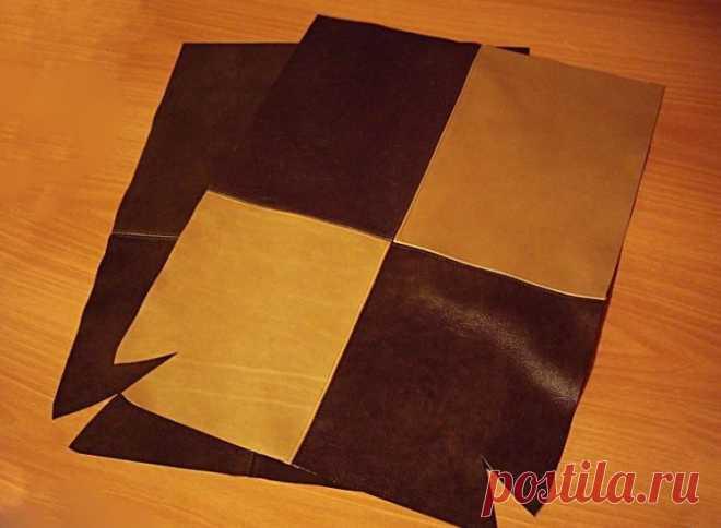 83c4beb1d75b Кожаная сумка своими руками (164 фото): выкройка, как сшить из кожи ...