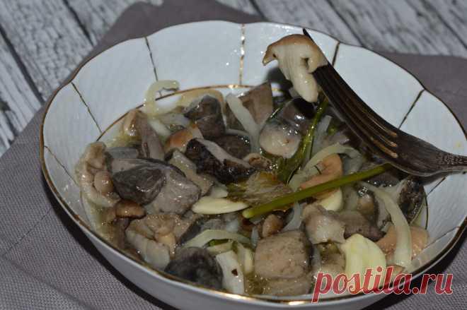 Делаем малосольные грибочки из замороженных с осени. | Пчелы Мед Огород | Яндекс Дзен